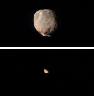 New Views of Martian Moons