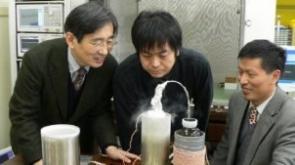 Prof. Itozaki, Dr Tachiki and Dr He