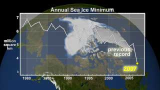 'Remarkable' Drop in Arctic Sea Ice Raises Questions