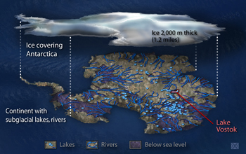 Report Offers Guidance on How to Safely Explore Vast Aquatic Systems Buried Under Antarctic Ice