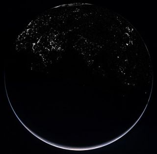 Rosetta: OSIRIS' view of Earth by night