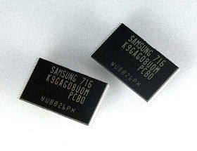 Samsung First to Mass Produce 16Gb NAND Flash Memory