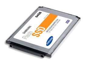 Samsung Mass Producing Industry's First 1.8-inch, 64GB Solid State Drive