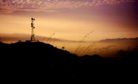 San Bernadino Sunset and Haze