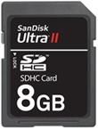 SanDisk Unveils 8-Gigabyte SanDisk Ultra II SDHC Card