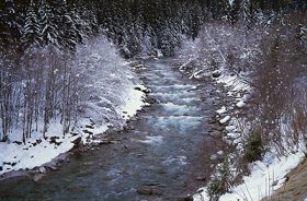 Snowmelt monitored in the Baltic Sea watershed region in near real time