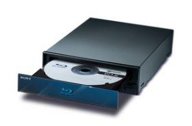 Sony Unveils 4x Blu-Ray Disc Writer Drive