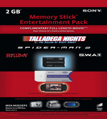 Sony Updates 2GB Memory Stick Entertainment Pack for PlayStation Portable