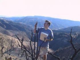 Studying Burned Landscape