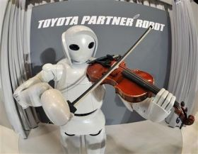 Toyota Shows Violin-Playing Robot