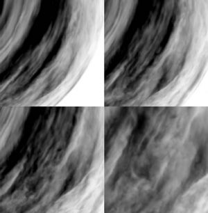Tracking alien turbulences