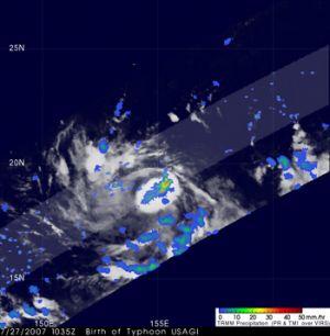 Typhoon Usagi Gathers Strength, Heads for Japan