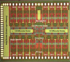 UCSD DARPA Smart Q-Band 4x4 Array Transmitter