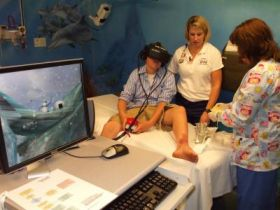 Virtual Game Helps Children Escape Realities of Burn Unit