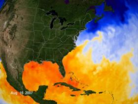 Warm Sea Surface Temps Help Fuel Storms