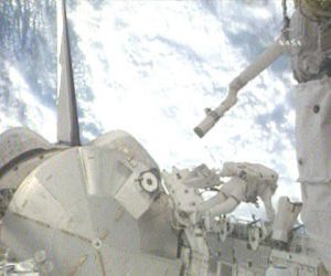 Endeavour Astronauts Attach Japanese Module to Station