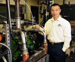 Iowa State engineer works to clean and improve engine performance