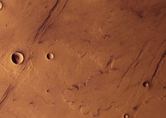 Mars Express reveals the Red Planet's volcanic past
