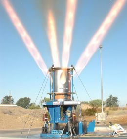 NASA Conducts Full-Scale Test Firing of Orion Jettison Motor