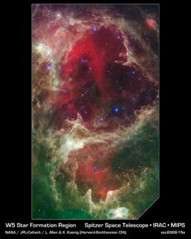 Spitzer Reveals Stellar