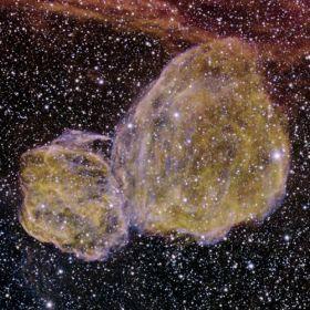 Supernova remnants dance in the LMC