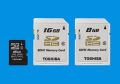 Toshiba to launch industry's largest 16GB microSDHC