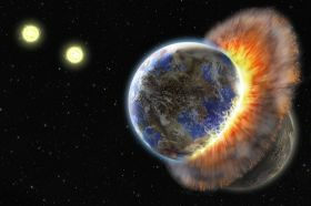 Astronomers discover dusty remains of two terrestrial planets