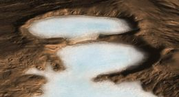 NASA Spacecraft Detects Buried Glaciers on Mars