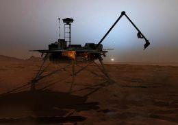Phoenix Lander Winds Up Its Astonishing Summer On Mars
