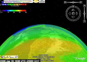 '4-D' ionosphere map helps flyers, soldiers, ham radio operators