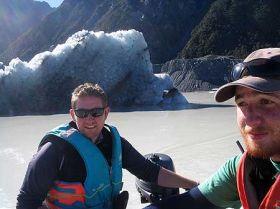 Tasman Glacier retreat extreme