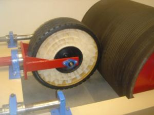 Airless tire project may prove a lifesaver in military combat