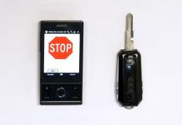A Key to Block Cell Phone Use by Teen Drivers