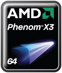 AMD PhenomX3 processor logo