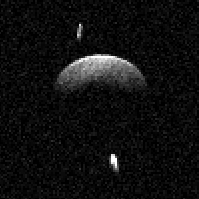 Arecibo Observatory astronomers discover first near-Earth triple asteroid