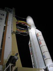 Ariane rocket puts telecom satellites into orbit