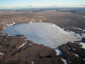 Baffin Island Ice Cap
