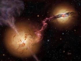 Colossal black holes common in early universe