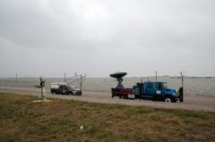 Doppler on Wheels Deployed at Hurricane Ike