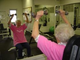 Elderly Women Can Increase Strength