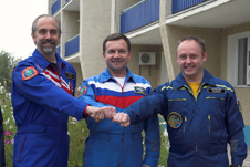 Expedition 18 Crew To Launch from Baikonur