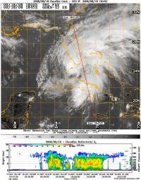Fay Comes Ashore in Florida