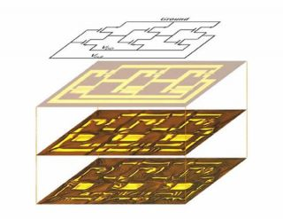 Foldable and stretchable, silicon circuits conform to many shapes