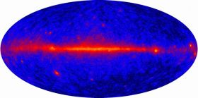 GLAST Observatory reveals entire gamma-ray sky
