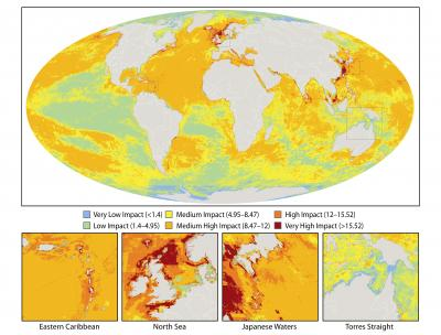 Human Footprints Across the World's Oceans
