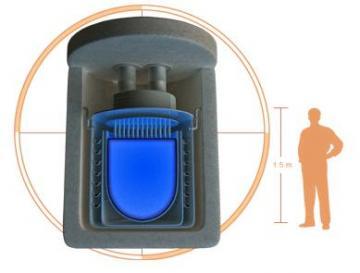 Hyperion nuclear reactor