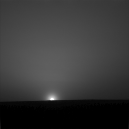 Ice Cold Sunrise on Mars