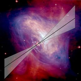 Integral locates origin of high-energy emission from Crab Nebula