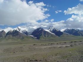 Kunlun Mountain Pass Basin, Tibetan Plateau