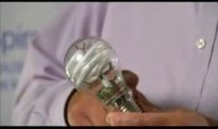 'Light within a light' offers CFL efficiency with incandescent bulb shape